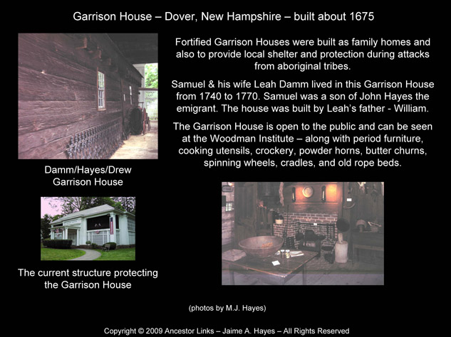 Garrison House - Dover NH