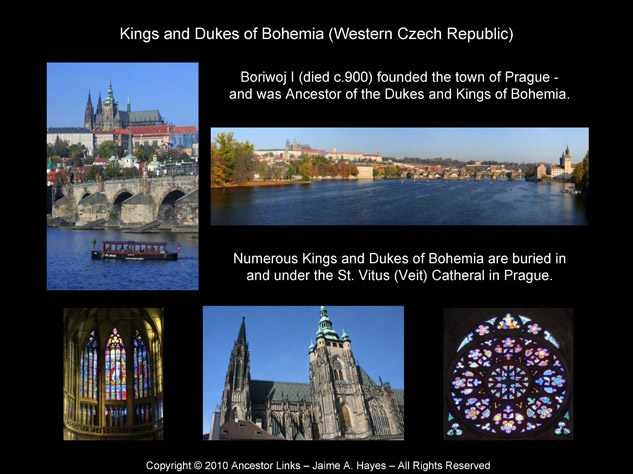 Kings of Bohemia - Prague Cathedral