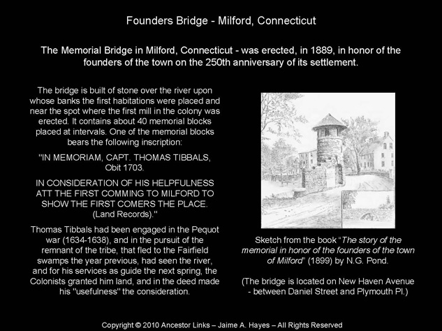 Founders Bridge - Milford, Conn.
