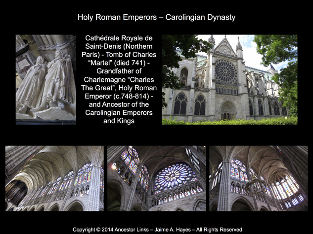 Carolingian Dynasty - Saint Denis Cathedral, France - 2
