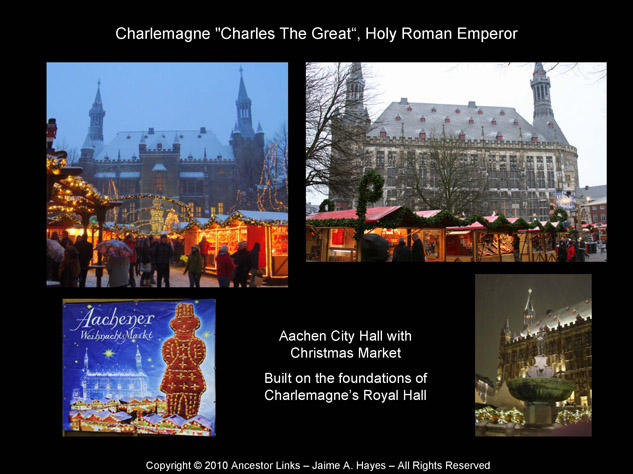 Holy Roman Emperors - Charlemagne - Aachen City Hall