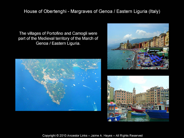 House of Obertenghi - Portofino and Camogli, Italy
