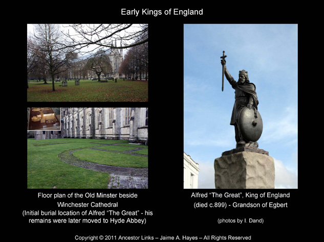 Early Kings of England - Alfred The Great