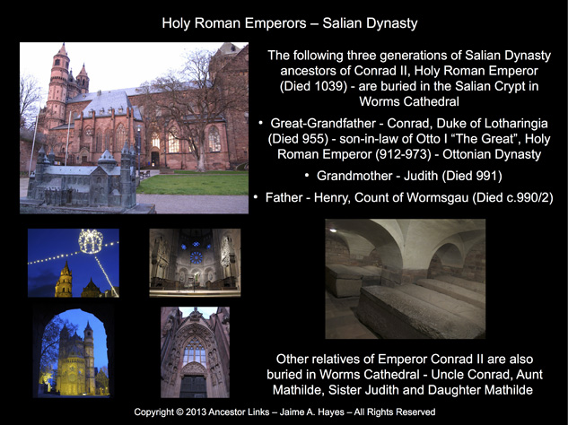 Salian Dynasty - Worms Cathedral